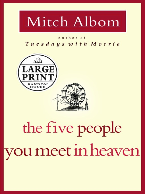 Cover of The Five People You Meet in Heaven